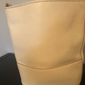 Jcrew leather bucket bag